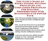 The Insider's How To Earn Extra Money, Marketing and Success Principles for Electric Toothbrushes Web Biz 3 CD Course