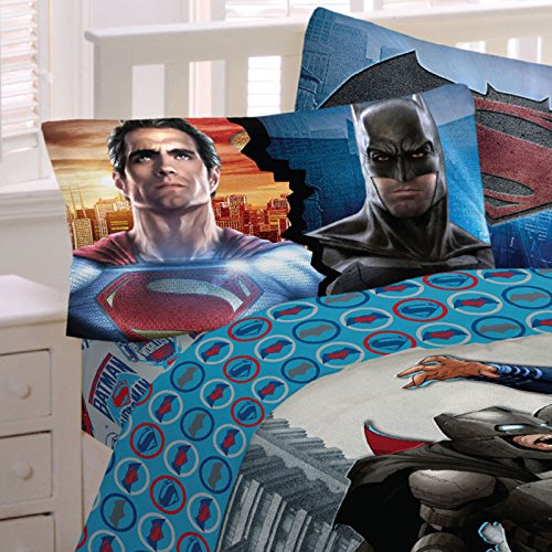 Batman-vs-Superman-Bed-Sheets-Worlds-Finest-Heroes-Bedding-Accessories