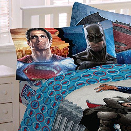 Batman Vs Superman Twin Sheet Set (Worlds Finest)