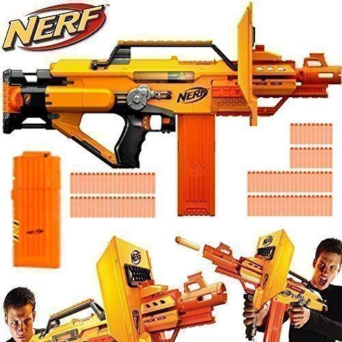 Nerf N-Strike – Spielzeug Stampede ECS Schnellfeuer Kampfgewehr Pfeile Schießen online kaufen