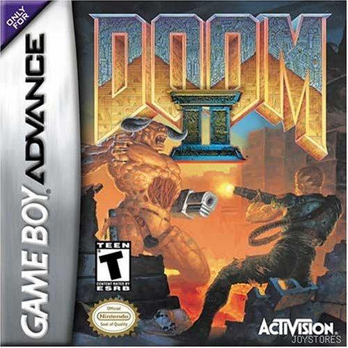 DOOM II 2 GBA GAMEBOY ADVANCE SP COLLECTOR'S (Doom Gameboy Advance Sp compare prices)