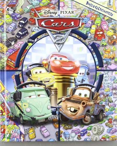 Cars 2 Busca Y Encuentra Gran Formato L&F
