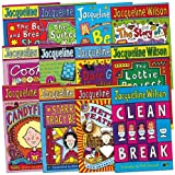 Jacqueline Wilson Jacqueline Wilson Pack, 12 books, RRP £71.88 (Bed & Breakfast Star; Best Friends; Candyfloss; Clean Break; Cookie; Hetty Feather; Lottie Project; Secrets; Starring Tracy Beaker; The Dare Game; The Story of Tracy Beaker; The Suitcase Ki