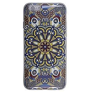 Micomy Printed Swarovski Crystal Studded TPU Soft Case for Apple iPhone 6 -Multi Colour