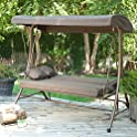Coral Coast Siesta 3 Person Swing Bed