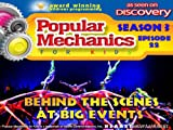 Popular Mechanics For Kids - Season 3 - Episode 22 - Behind The Scenes At Big Events
