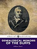 img - for Genealogical Memoirs of the Duffs book / textbook / text book