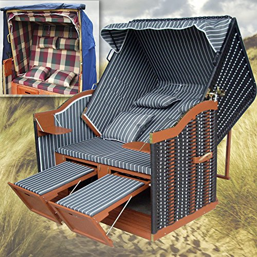 strandkorb grau winterfester strandkorbh lle strandkorb anthrazit gartenliege polyrattan. Black Bedroom Furniture Sets. Home Design Ideas