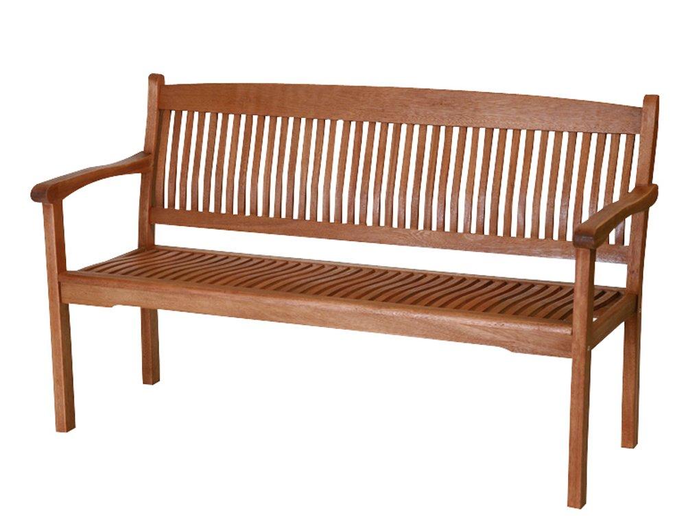 Siena Garden 657016 Landhausbank Nassau, 3-sitzig, L 150 x B 67 x H 89 cm Eukalyptus-Holz günstig online kaufen