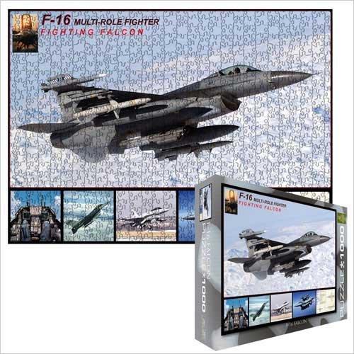 Cheap Eurographics F-16 Falcon 1000 Piece Jigsaw Puzzle Eurographics (B002MYD4I2)