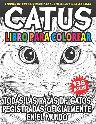 CATUS libro para colorear Todas las razas de gatos registradas ...