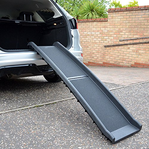 Pet-Style-Car-Travel-Pet-Ramp-Bi-Folding-Non-Slip-Anti-Slip-Side-Rails-Black-40--157-cm-Dog-On-Sale-Now