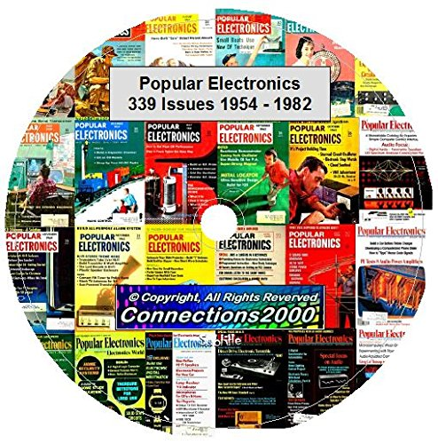 Popular Electronics Magazine 339 Issues 1954-1982 on DVD PDF eBook (Popular Electronics compare prices)
