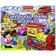 Fisher-Price Little People Lift-the-Flap Cars, Trucks, Planes and Trains
