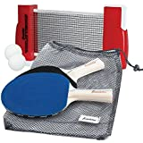 Franklin Sports Table Tennis To Go (Multi-color)
