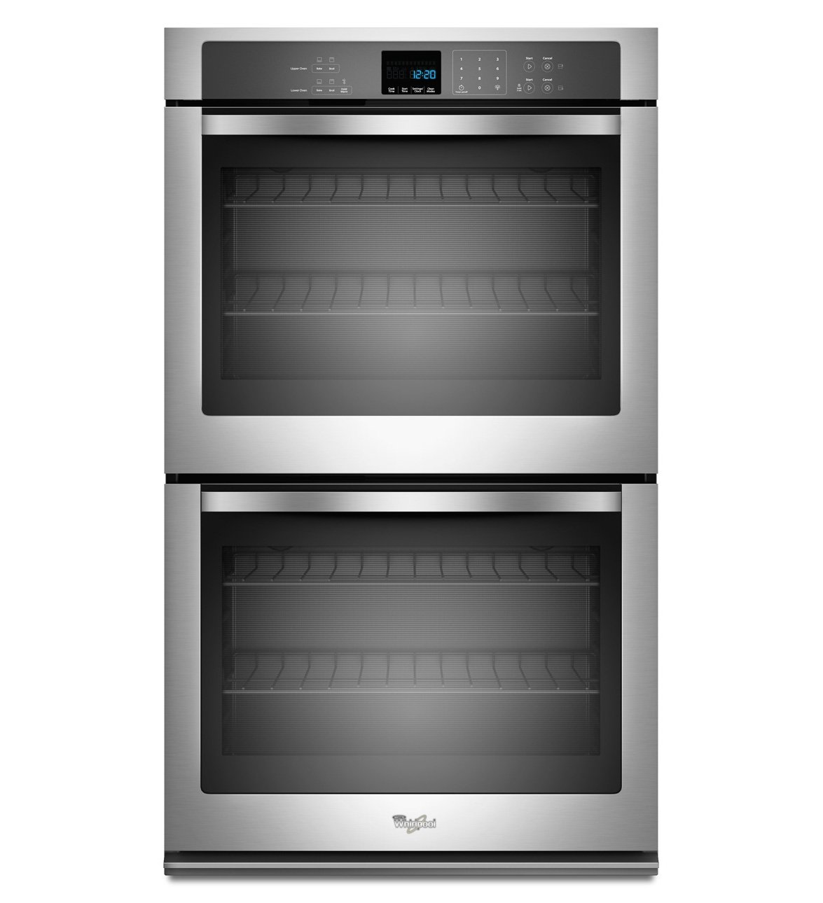 "Whirlpool WOD51EC0AS 30"" Stainless Steel Electric Double Wall Oven"