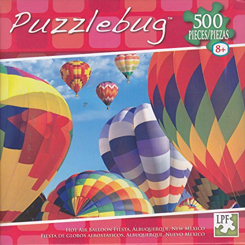Puzzlebug 500 Piece Puzzle ~ Hot Air Balloon Fiesta, Albuquerque, New Mexico - 1