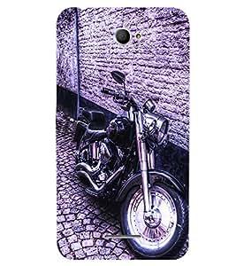 Fuson 3D Printed Bike Designer back case cover for Sony Xperia E4 - D4501