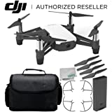 Ryze Tello Quadcopter Drone with HD camera and VR - powered by DJI technology and Intel Processor Starter Travel Bundle (Color: Base, Tamaño: D) Advanced)