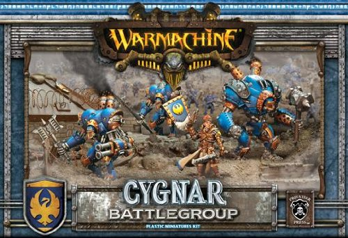 Battlegroup Box Set (Plastic) MKII Cygnar Warmachine Miniature Game