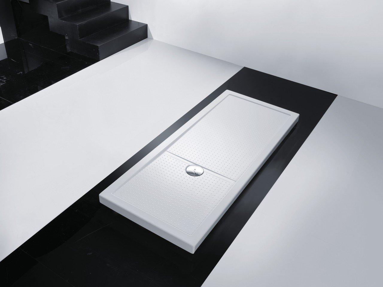 Novellini Olympic Plus Duschwanne, 120x70x4,5cm, weiß  BaumarktÜberprüfung und Beschreibung