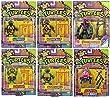 Complete Set Teenage Mutant Ninja Turtles Retro Classic Collection Donatello Leonardo Michelangelo Raphael Krang Foot Soldier