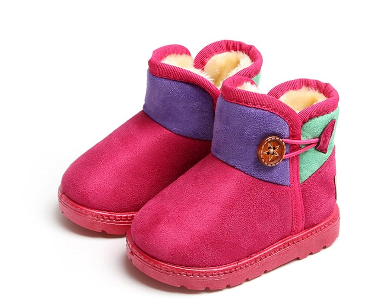 Winter warm Anti-Rutsch snow boots/Schneestiefel Kinder-Schneeschuhe Jungen Stiefel Mädchenbaumwollstiefel Kinder warmen Baumwollstiefel Fashion Kinder Schuhe günstig online kaufen