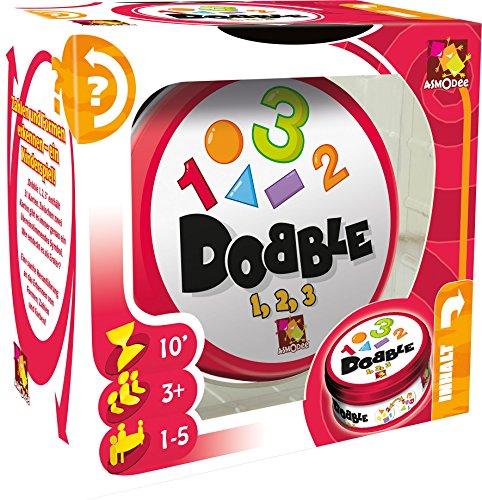 Asmodee 002964 - Lernspiel - Dobble 1 / 2 / 3, mehrfarbig