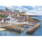 Gibsons Puzzle - Crail Harbour - 1,000 Piece Jigsaw