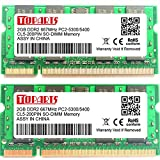 TOPARTS DDR2 4GB(2x2GB) 667MHz PC2-5300/5400 SO-DIMM Memory For MacBook