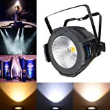 Betopper 100W COB DJ Wash Par Lights Super Bright LED Stage Lighting(One of the Most Professional Kits) … (Color: COB001H)
