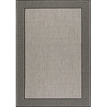 nuLOOM Grey Machine Made Outdoor Gris Area Rug, 5 3