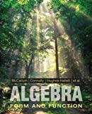 img - for Algebra: Form and Function book / textbook / text book