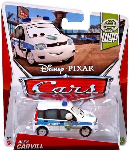 Disney / Pixar CARS MAINLINE 1:55 Die Cast Car Alex Carvill [WGP 17/17]