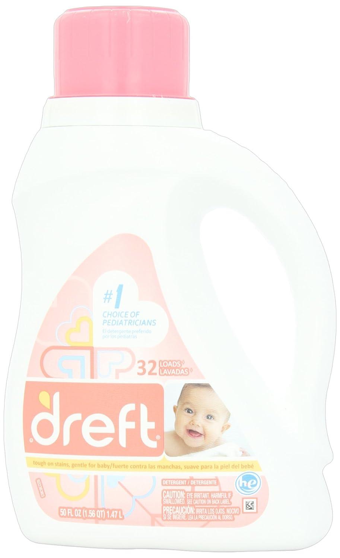 Dreft For High Efficiency Machines Baby Liquid Laundry Detergent 32 Loads 50 Fl Oz