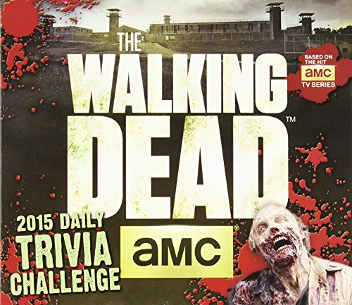 The Walking DeadTM Trivia Challenge 2015 Boxed Calendar (Easter Seals Calendar 2015 compare prices)