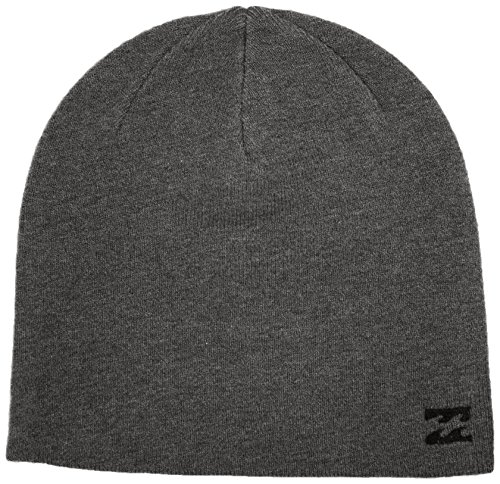 Billabong - All Day Beanie, Berretto da uomo, grigio (dark grey heather), unica