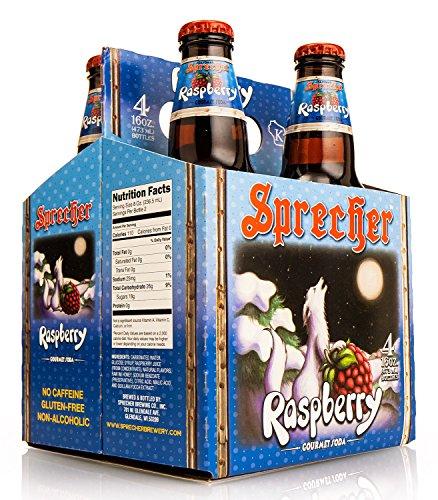 Sprecher Red Raspberry (12 Bottles) (Sprecher Soda compare prices)