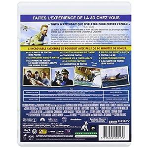 Les Aventures de Tintin : Le Secret de la Licorne - Blu-ray 3D active + Blu
