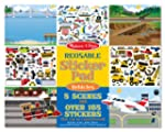 Melissa & Doug Vehicles Reusable Stic...