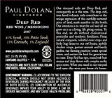 2007 Paul Dolan Vineyards Library Deep Red Blend Mendocino County 1.5L