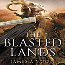 The Blasted Lands: Seven Forges (       UNABRIDGED) by James A. Moore Narrated by David de Vries