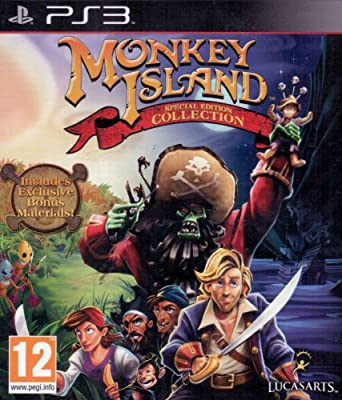 Monkey Island: The Special Edition Collection For PS3