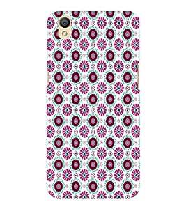 EPICCASE zodiac flowers Mobile Back Case Cover For OPPO A37 (Designer Case)