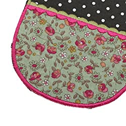 Phenovo Paire of Stylish Elbow Knee Patches Repair Sewing Applique Crafts Floral