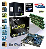 ADMI AMD Phenom X4 965 Quad Core 3.4GHz – Asus M5A78L-M USB3 HDMI Motherboard – 4GB DDR3 Memory Bundle ***PRE-ASSEMBLED & TESTED by ADMI***
