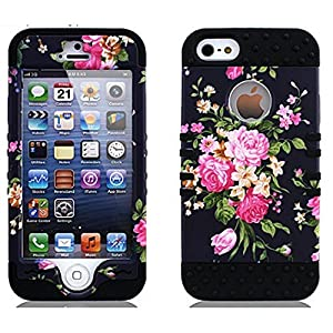6S,6S 4.7,iPhone 6/6S,6S Case,iPhone 6S Case,Case for iPhone 6S,Cover for iPhone 6S,Linycase Fashion Flowers Picture Style Hard Soft Pc+ Silicone Design For iPhone 6S/6 4.7 inch