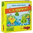 HABA 5877 - Meine ersten Spiele - 1, 2, Hüpferei, Würfellaufspiel
