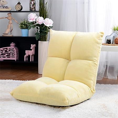 divano pigro Tatami singolo piega Panno Simplicità creativa Letto multifunzionale Lazy bed , light yellow