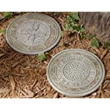 Set of 2 Josephs Studio Irish Blessing Celtic Knot Garden Stepping Stones 11 q